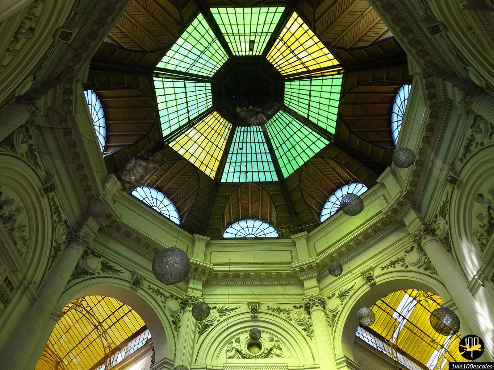 plafond couleurs passage Macca Vilacrosse bucarest roumanie