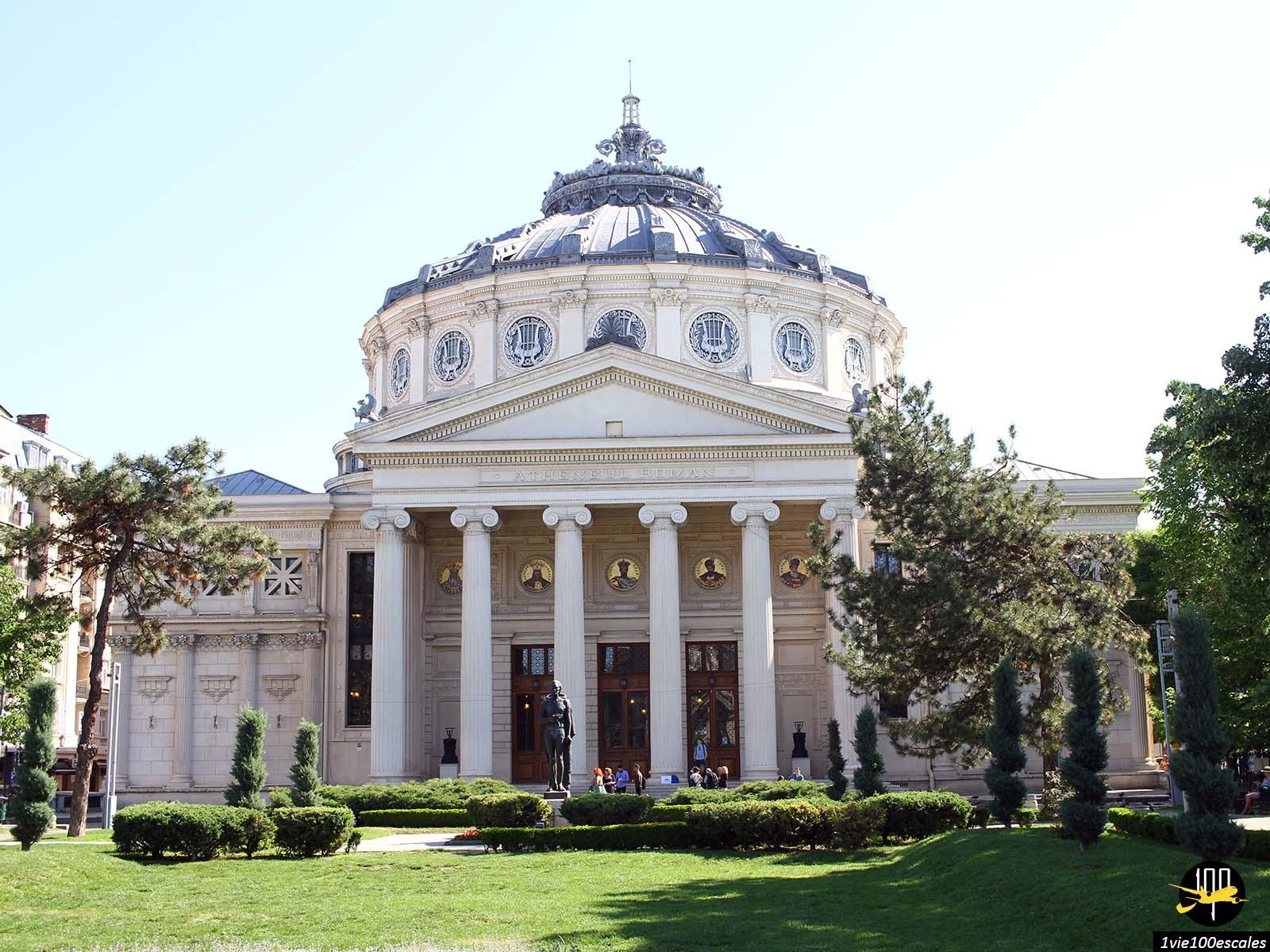monument historique avenue Calea Victoriei bucarest roumanie