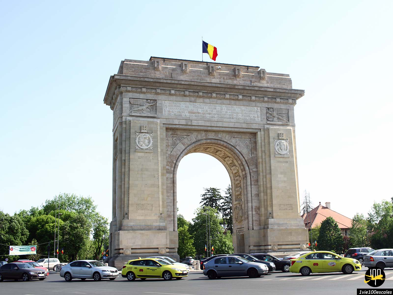 Arc de triomphe bucarest roumanie