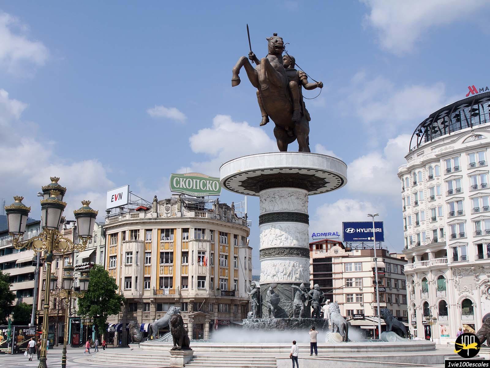 Escale #125 Skopje