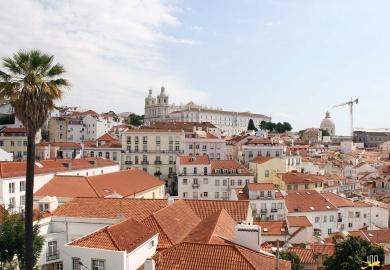 Panorama depuis les hauteurs de Lisbonne