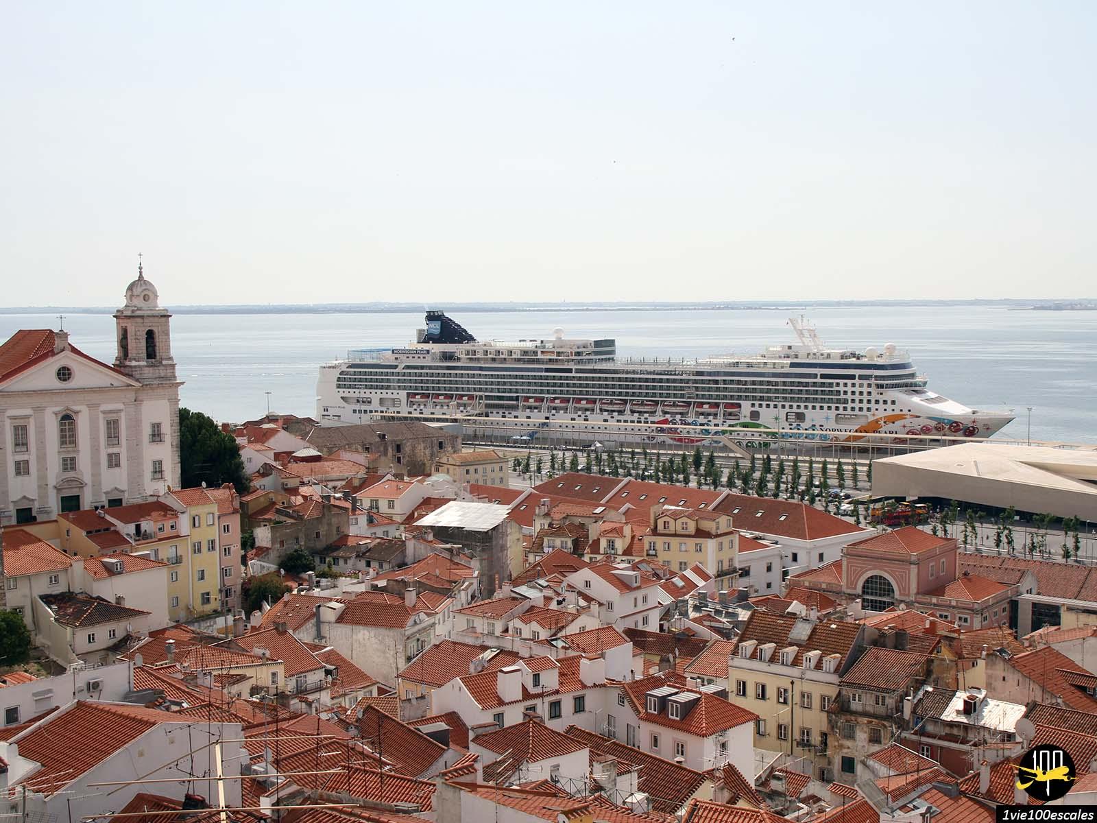 Les paquebots de croisière qui font escales à Lisbonne