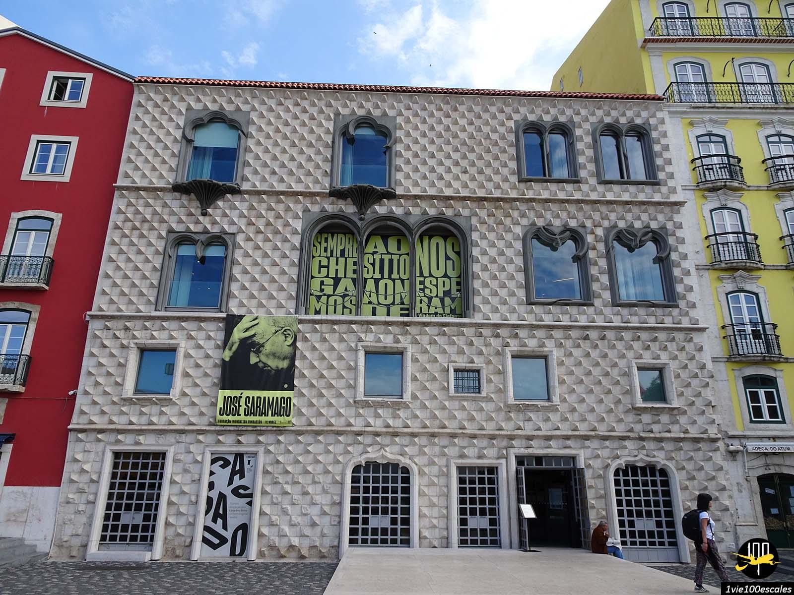 La Casa dos Bicos est un édifice emblématique de Lisbonne