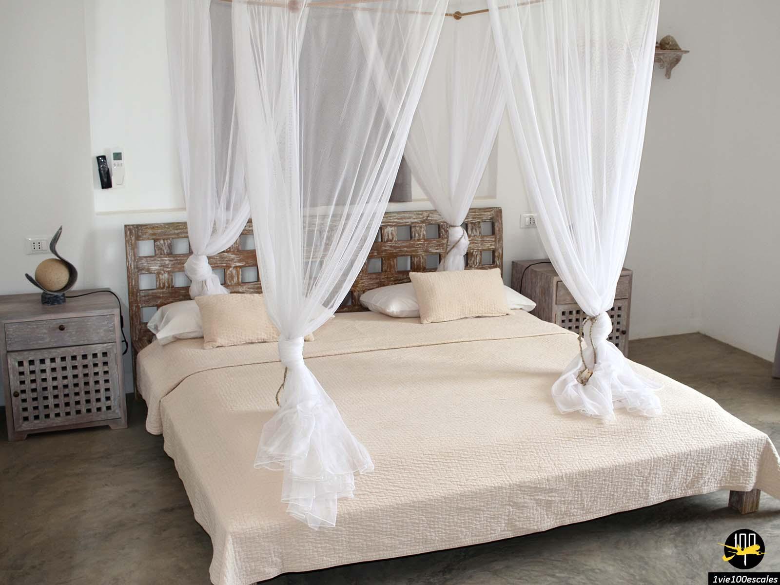 La chambre du B&B Nos Kasa à Sal Rei sur l'île de Boa Vista