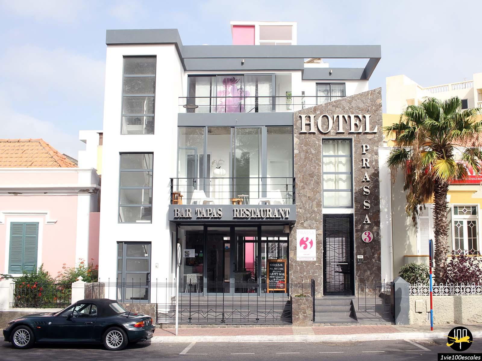 Le Prassa 3 Boutique Hotel à Mindelo sur l'île de Sao Vicente