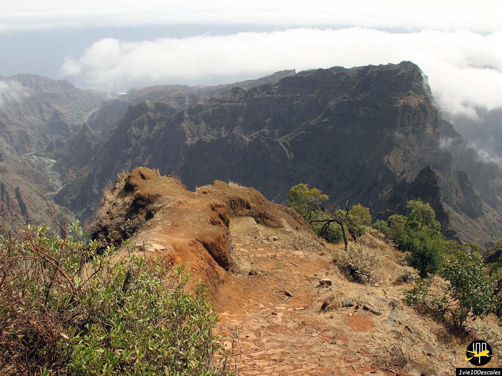 Les magnifiques paysages de l'île de Santo Antao au Cap Vert