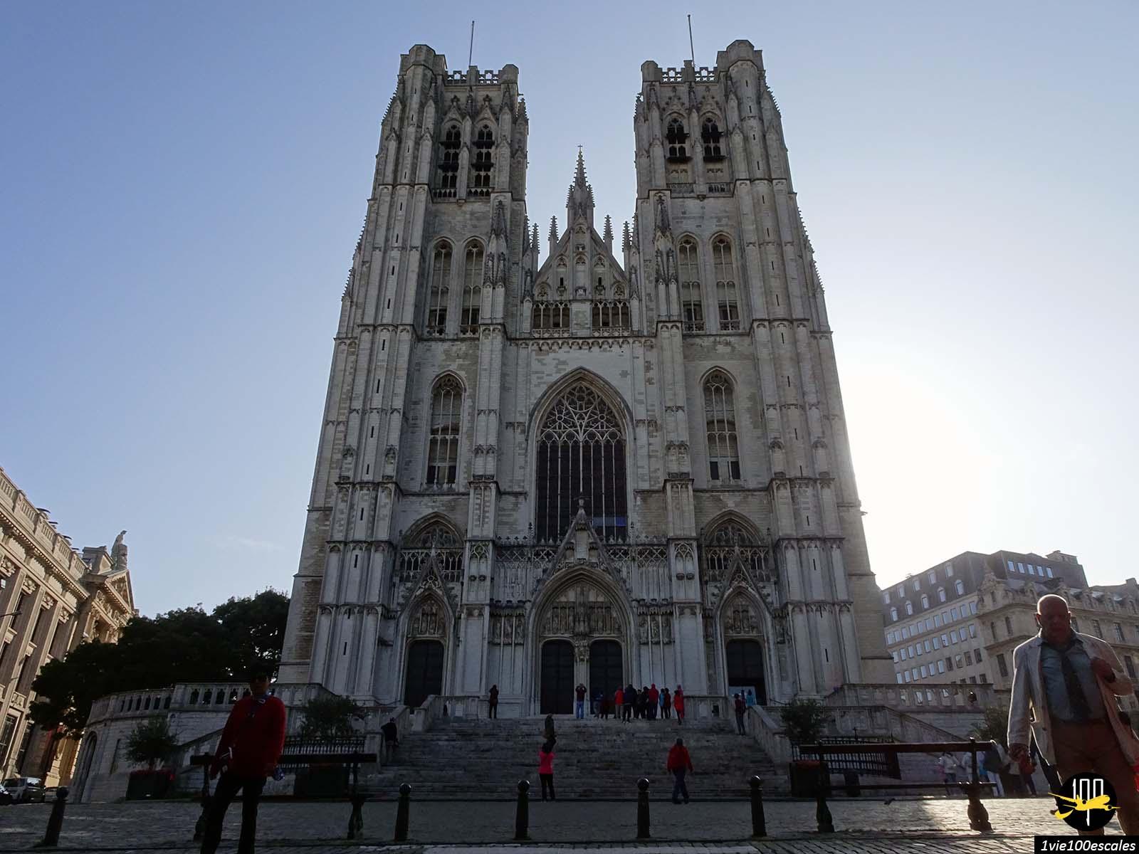 L'impressionnante Cathédrale Saints-Michel-et-Gudule de Bruxelles