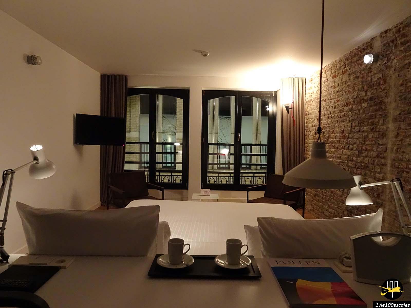 Chambre du 9Hotel Central de Bruxelles
