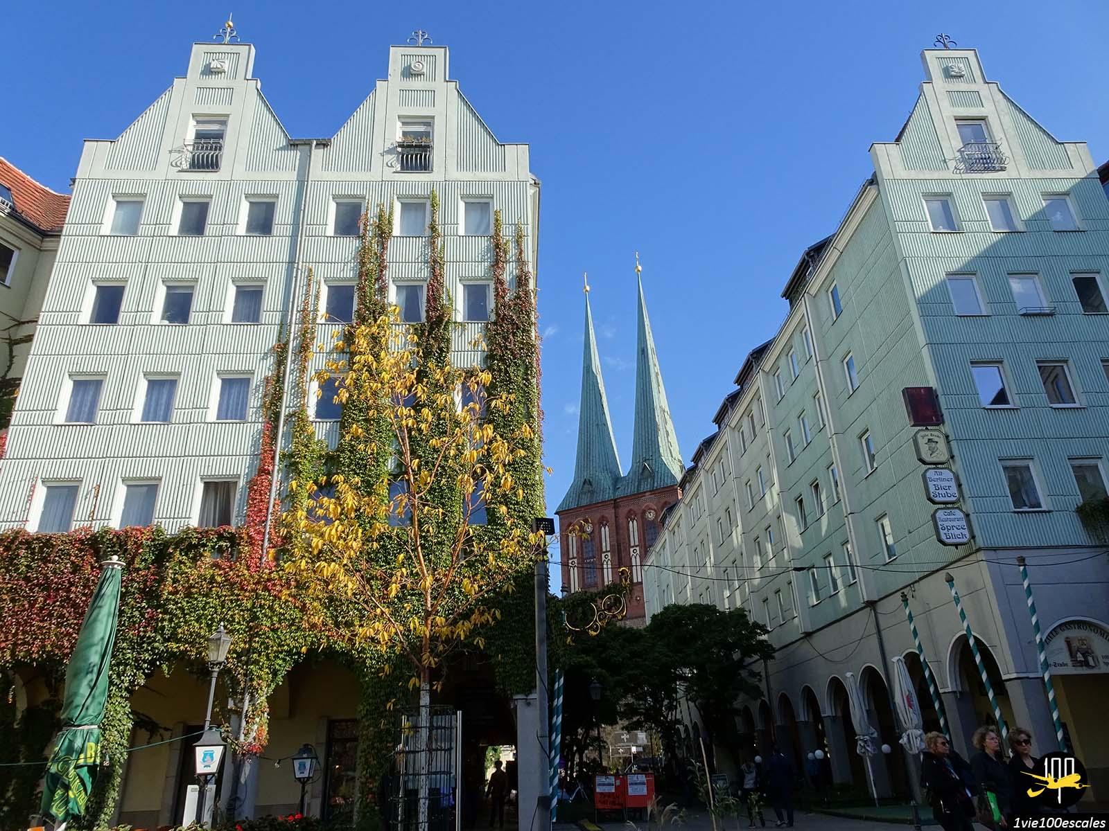 L'architecture berlinoise ainsi que l'église Nikolaikirche de Berlin