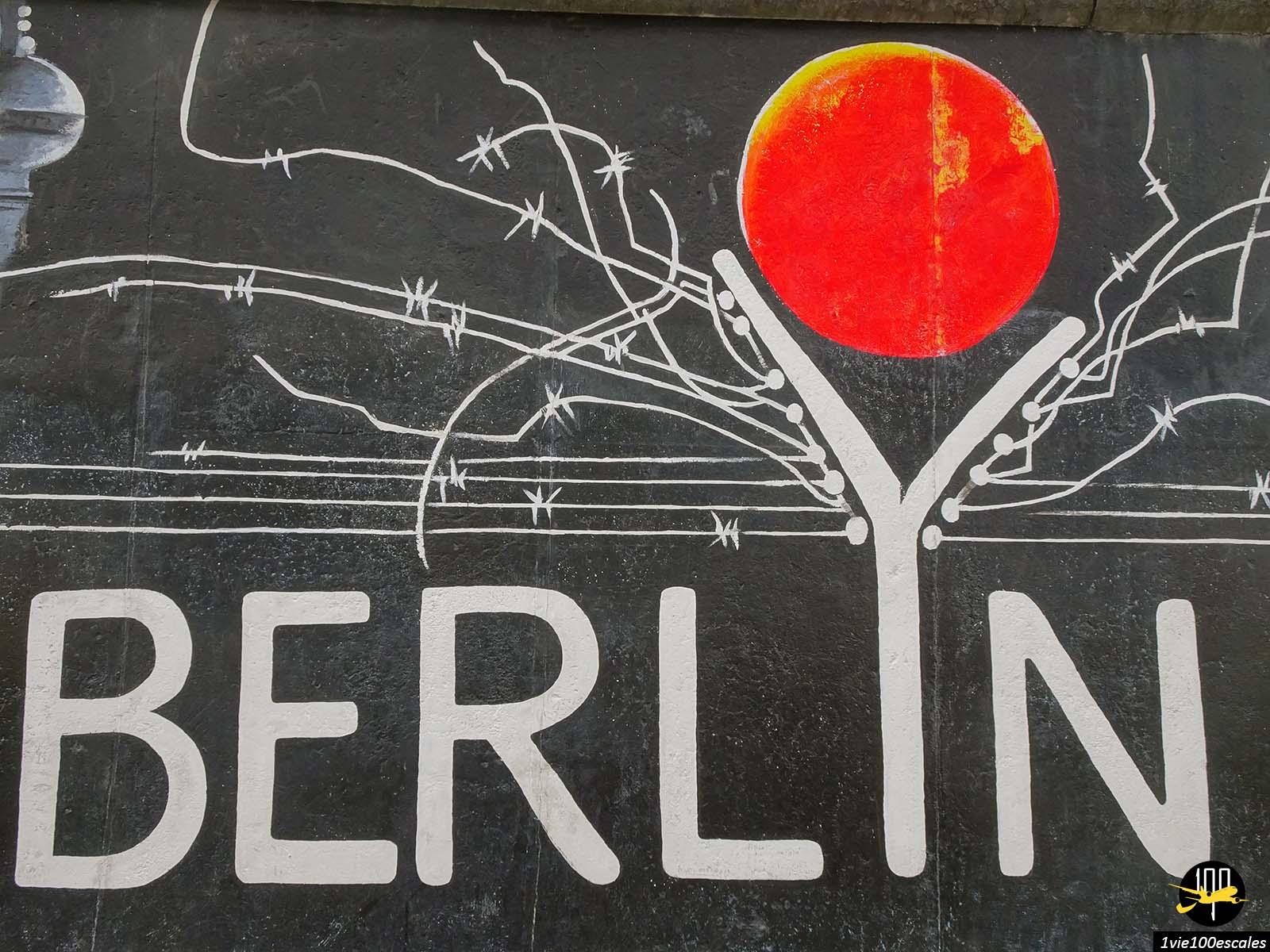 L'East Side Gallery est un morceau du Mur de Berlin le long de la Spree