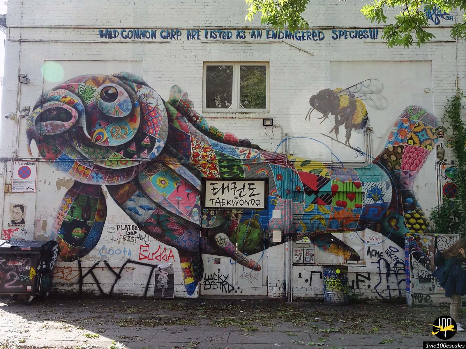 Le RAW Tempel est situé au coeur de Berlin dans l'ancienne partie Est de la ville
