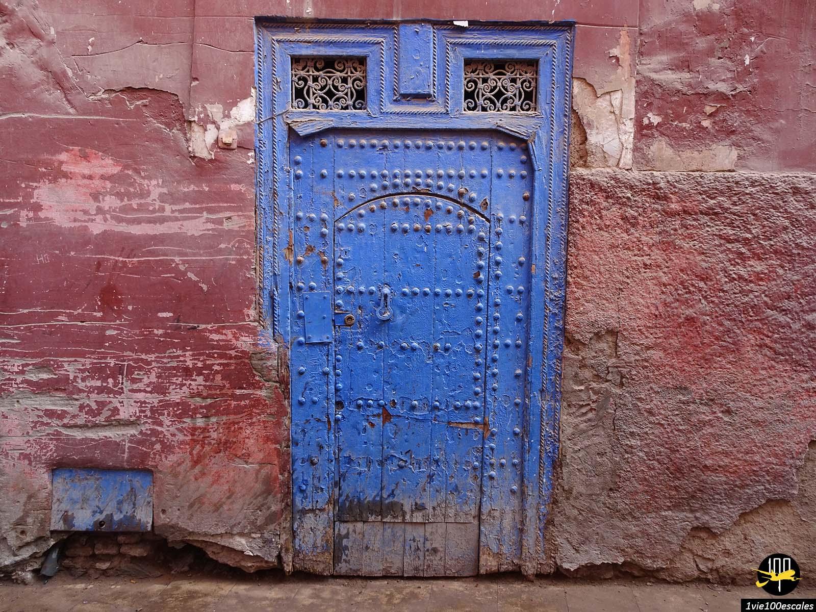 Ancienne porte d'entrée dans la médina de Marrakech