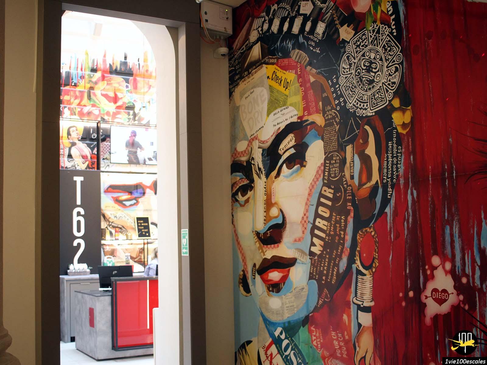 La décoration du T62 Hotel à Budapest en Hongrie