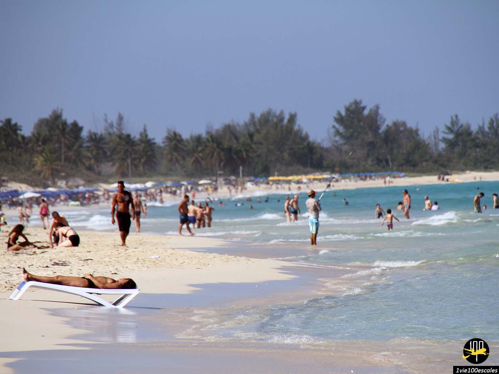 La vie durant les vacances de Noel sur les Playas del Este