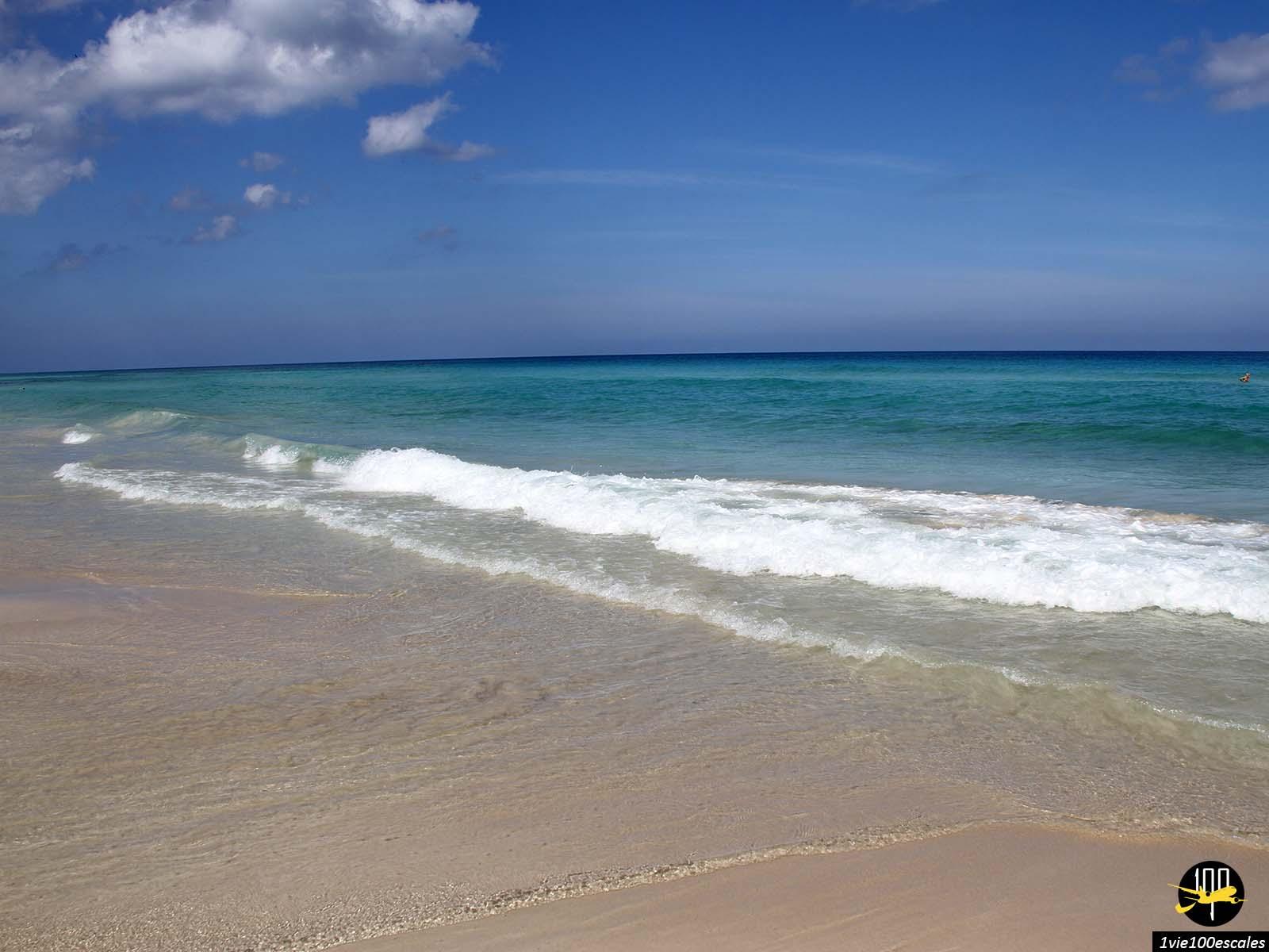 Les couleurs de la mer des Playas del Este