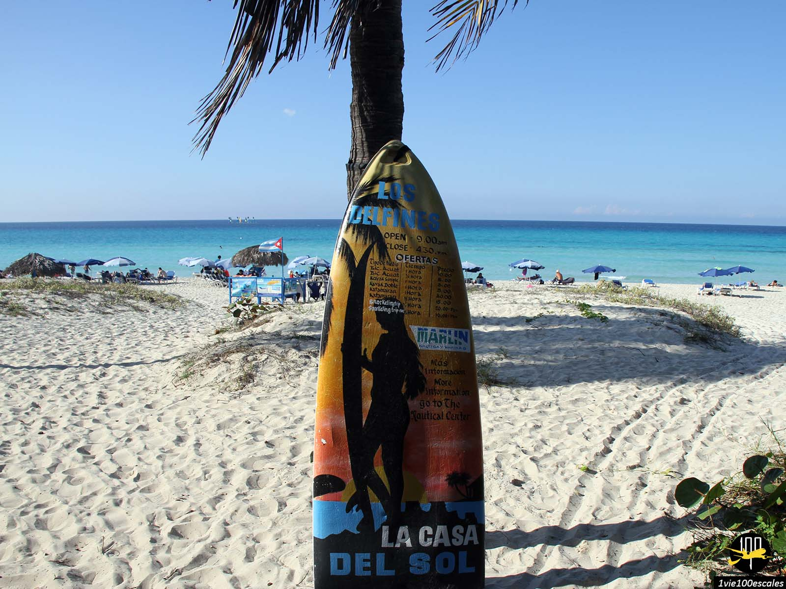 Le club de plage La Casa Del Sol à Varadero à Cuba