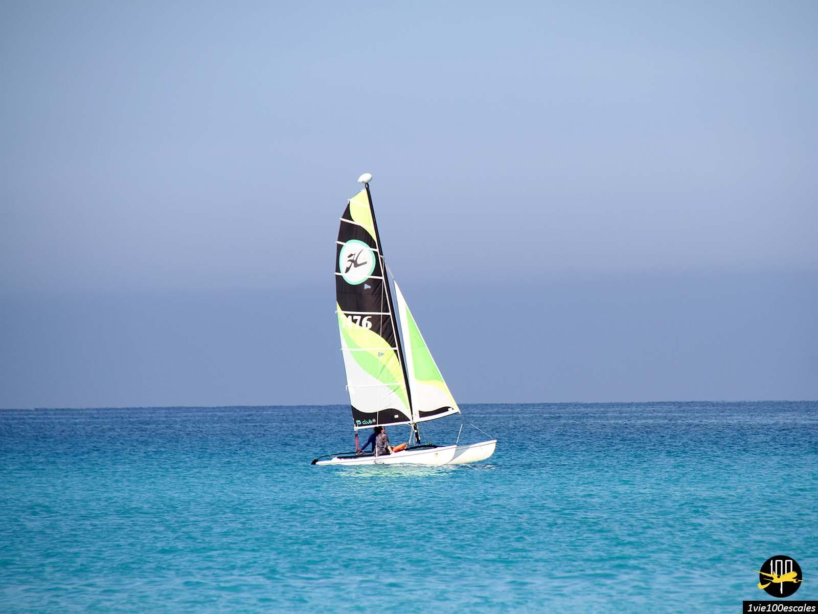 Faire du bateau à Varadero à Cuba
