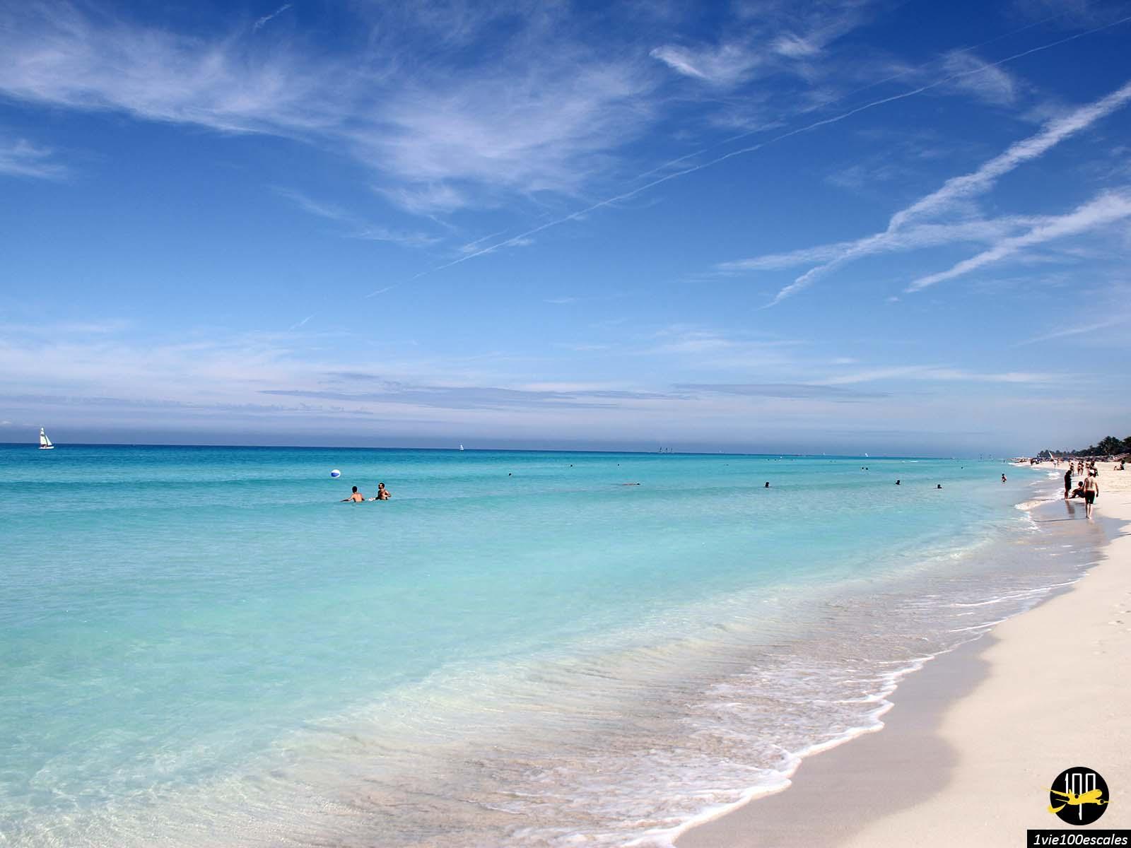 L'eau turquoise des plages de Varadero