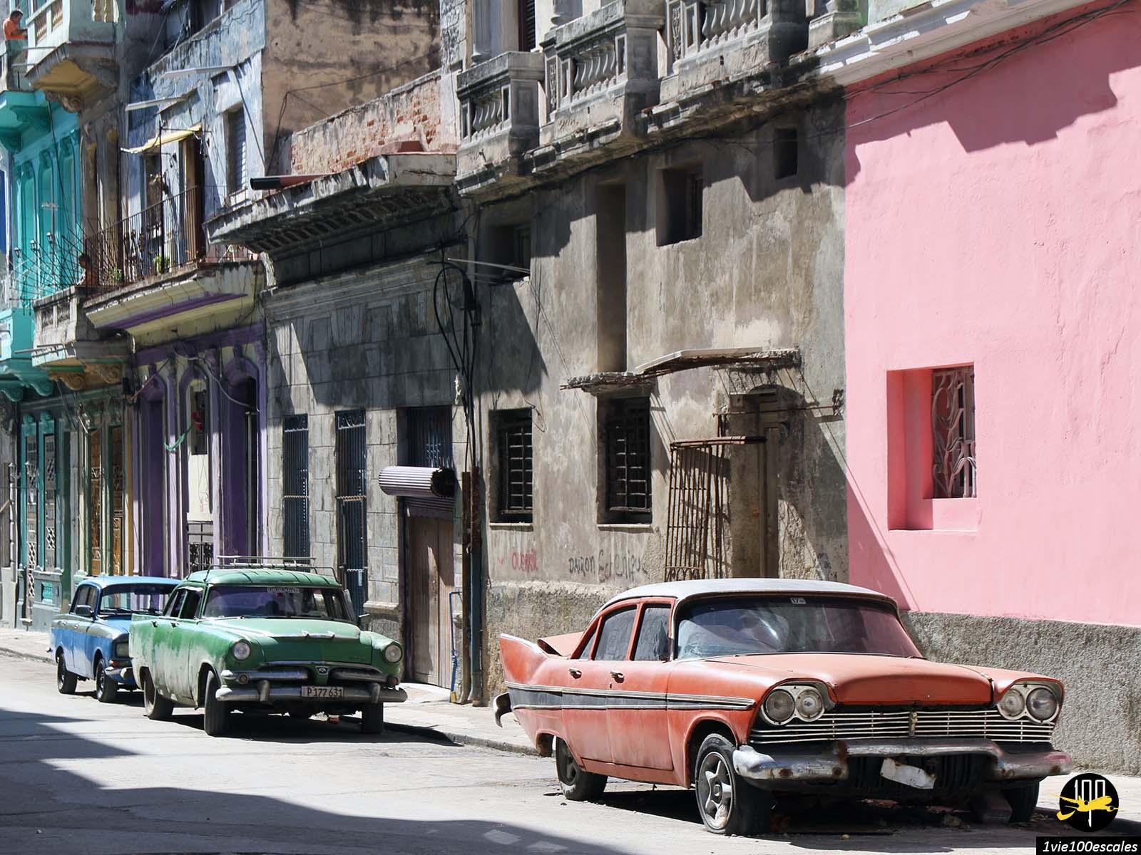 Un quartier typique de La Havane situé juste en face de la Malecón