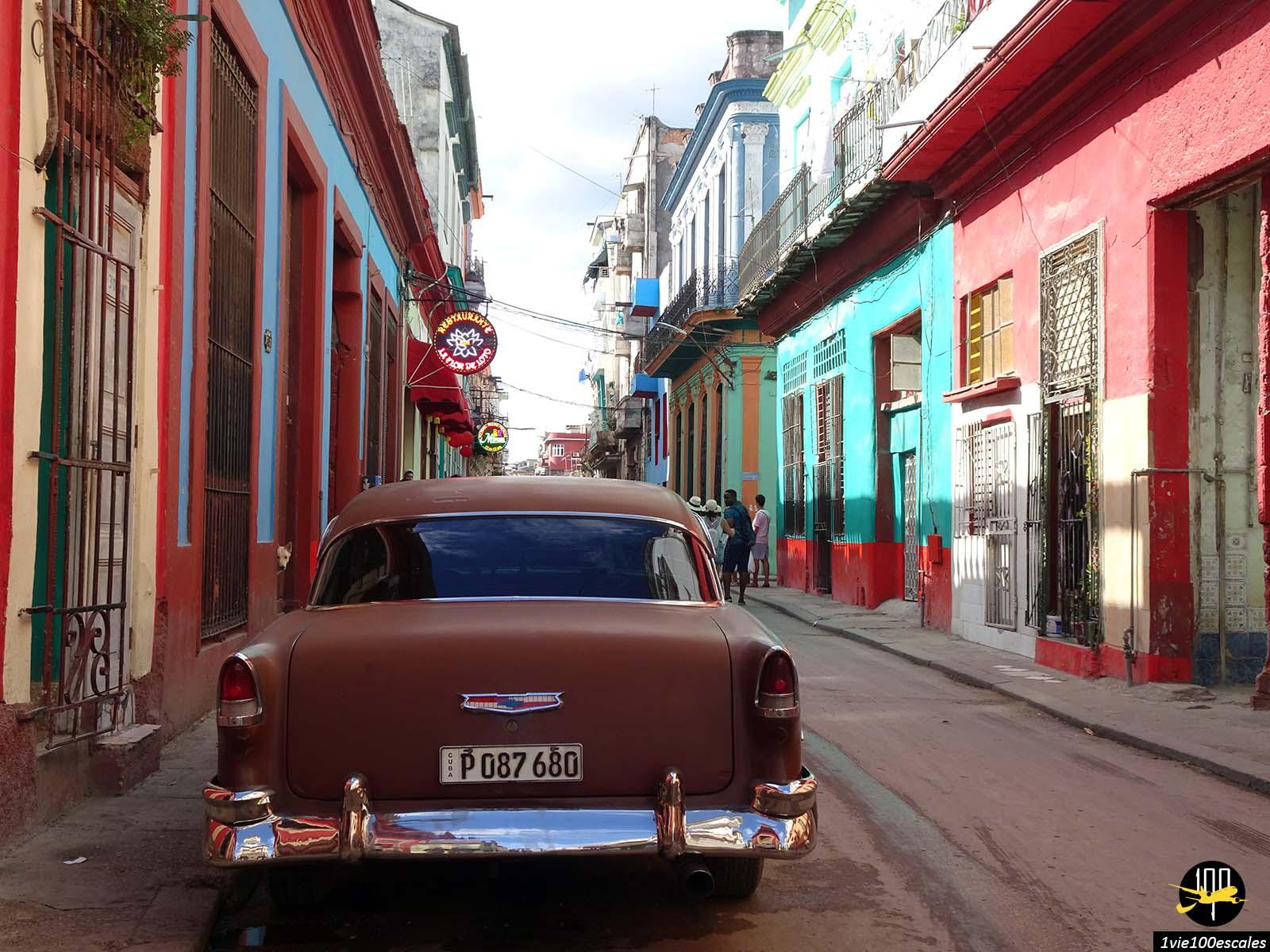 Les belles et typiques ruelles du quartier chinois de La Havane